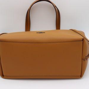 cfa2e18469 Coach Bags - COACH Market Whiplash Brown Leather Tote Bag